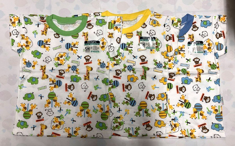 Atasan Kaos Anak Ridges Little Monkey XL 19100021