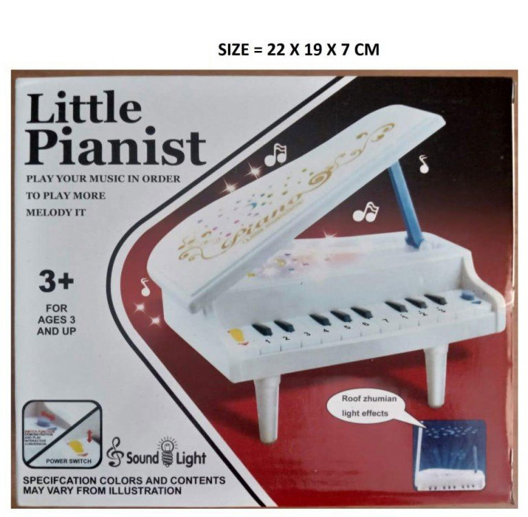 Mainan Piano with Light and Sound 19100060