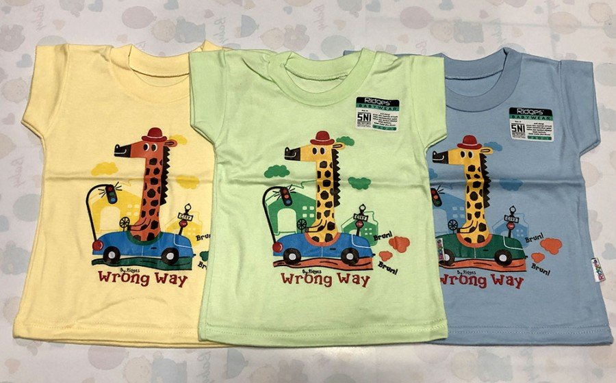 Atasan Kaos Anak Ridges Wrong Way L 19100126