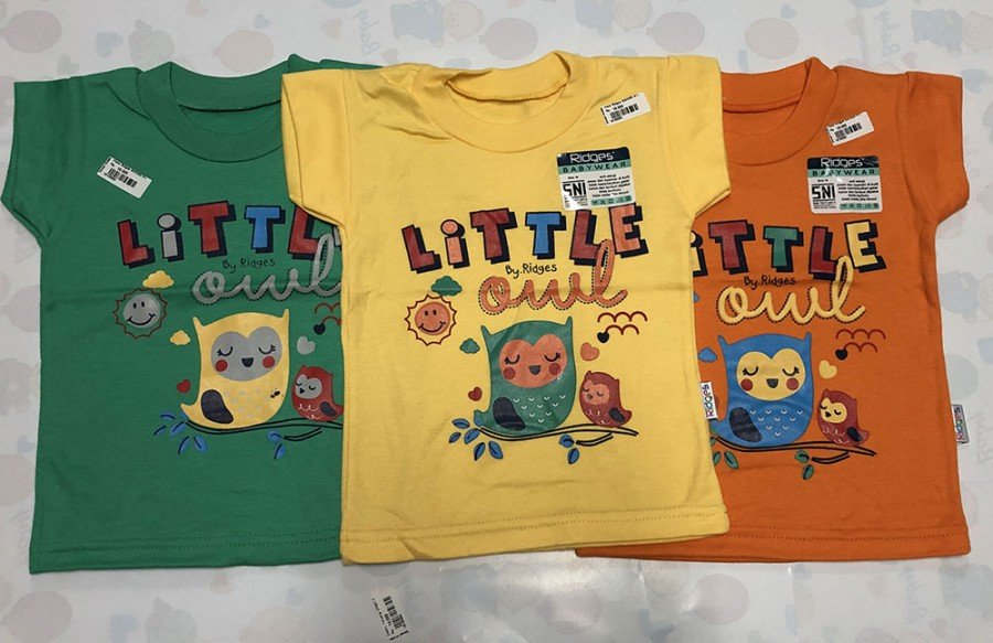 Kaos Anak Ridges Little Owl XL 19100094