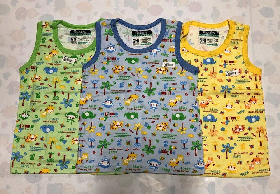 Singlet Anak Ridges Dancing Happy M 19100073