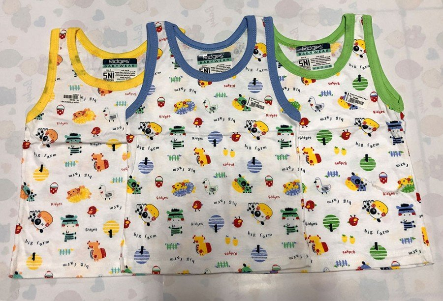 Singlet Anak Ridges Big Farm M 19100121