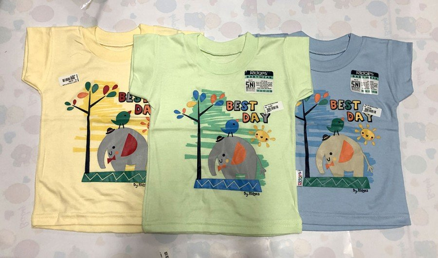 Atasan Kaos Anak Ridges Best Day S 19100116
