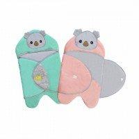 Baby Blanket / Selimut Bayi Baby Joy Kokoa Series BJB5013 - Hijau