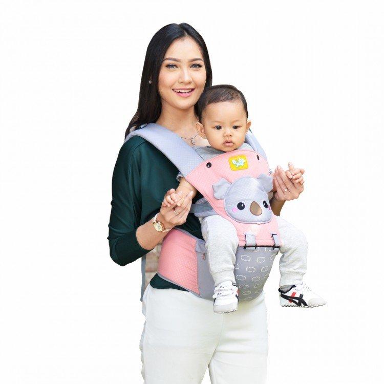 Gendongan Bayi Hipseat Kokoa Series Baby Joy BJG3029 - Salem