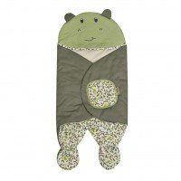 Baby Blanket / Selimut Bayi Topi Snobby Hippo Series TPB3131 - Hijau