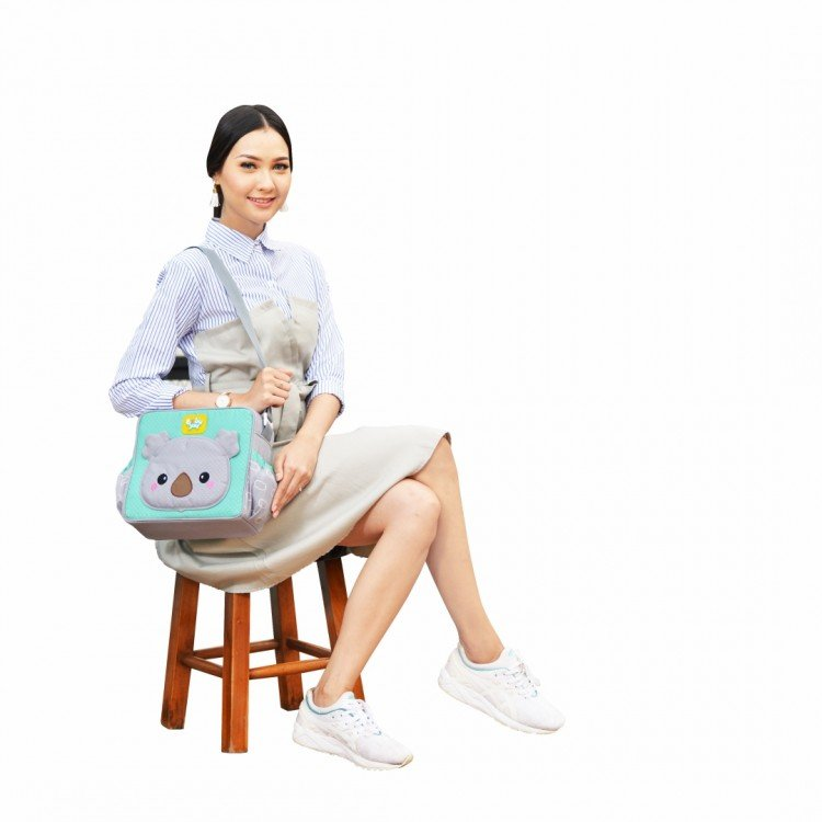 Tas Bayi Kecil Baby Joy Kokoa Series BJT1031 - Hijau