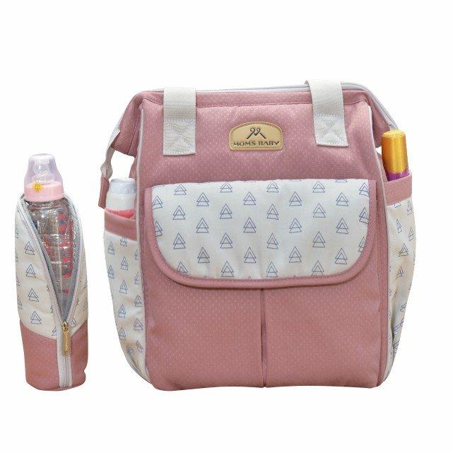 Tas Bayi Ransel Mil-Dy Series Moms Baby MBT3038 - Pink