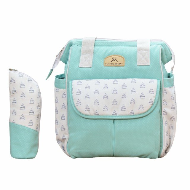 Tas Bayi Ransel Mil-Dy Series Moms Baby MBT3038 - Light Green