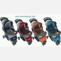 Baby Stroller Pliko Boston 338 - Merah