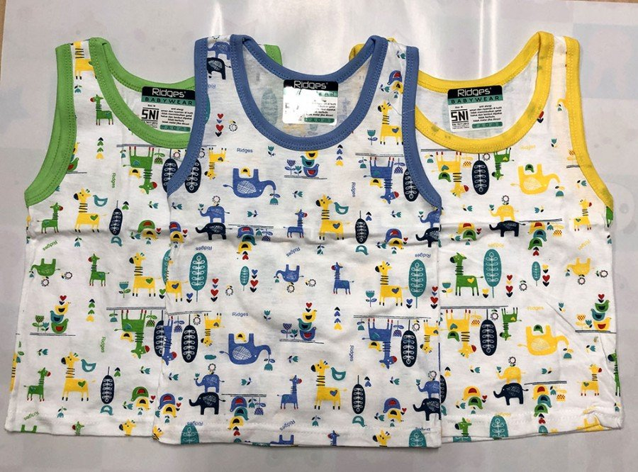 Singlet Anak Ridges Giraffe and Friend L 19120003
