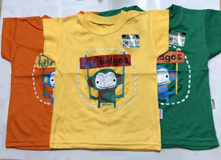Atasan Kaos Anak Ridges Hello Ridges XL 19120041