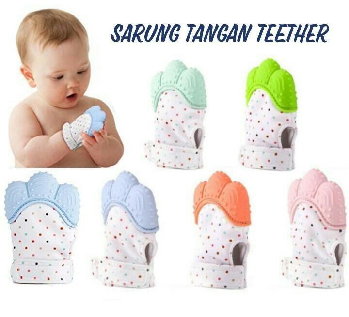 Sarung Tangan Bayi Teether / Gigitan Bayi