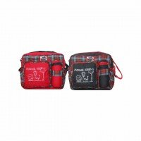 Tas Bayi Medium Saku Bordir TPT7801 Merah
