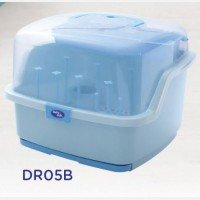 Baby Bottle Drying Rack Baby Safe 19120049 - Blue
