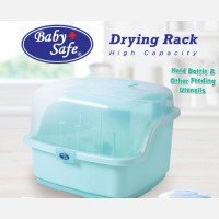 Baby Bottle Drying Rack Baby Safe 19120049 - Green
