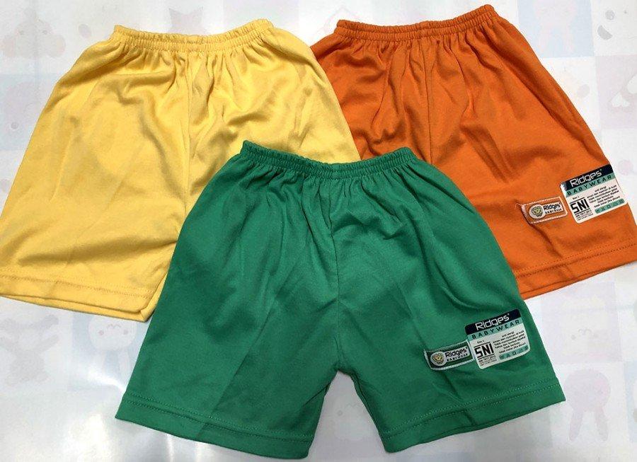 Celana Pendek Anak Ridges Polos XL 19120082