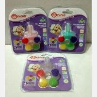 Ninio Full Silicone Pacifier and Teether 19120094 (Empeng + Gigitan Bayi)