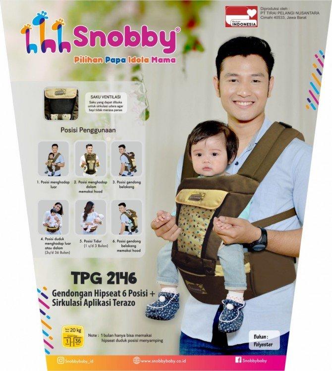 Snobby Gendongan Bayi Hipseat 6 Posisi Sirkulasi Aplikasi Terazo TPG2146