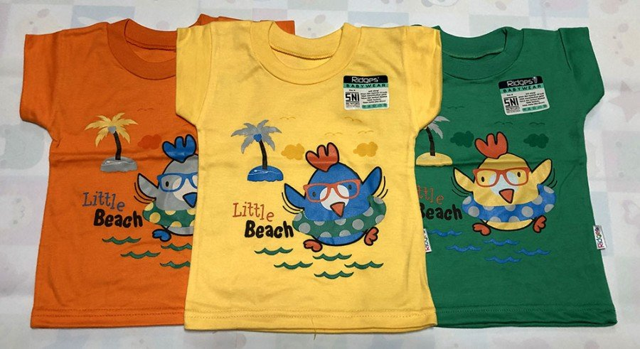 Atasan Kaos Anak Ridges Little Beach L 20010084