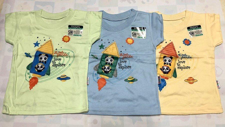 Atasan Kaos Anak Ridges Little Panda L 20010056