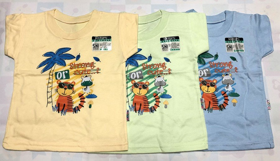 Atasan Kaos Anak Ridges Strong and Cute XL 20010089