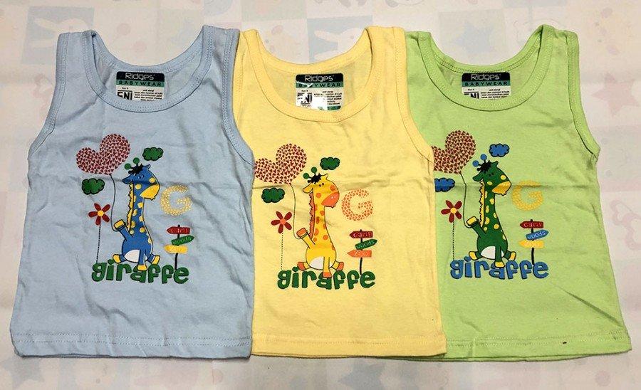Baju Atasan Singlet Anak Ridges Giraffe G S 20010062