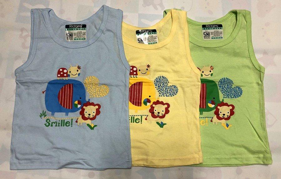 Baju Atasan Singlet Anak Ridges Smille XL 20010073