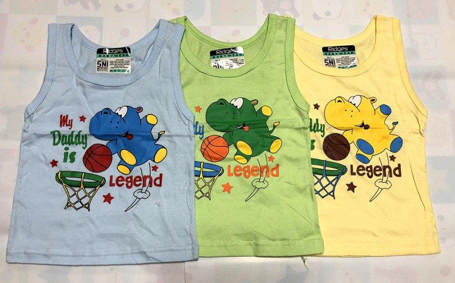 Baju Atasan Singlet Anak Ridges My Daddy is Legend XL 20010061