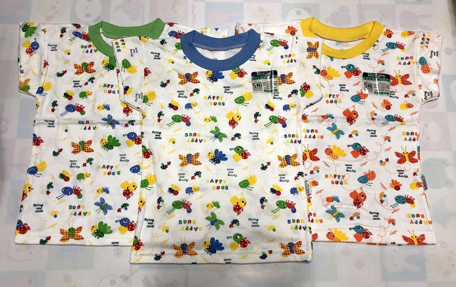 Baju Atasan Kaos Anak Ridges Flying and Smiling L 20010048
