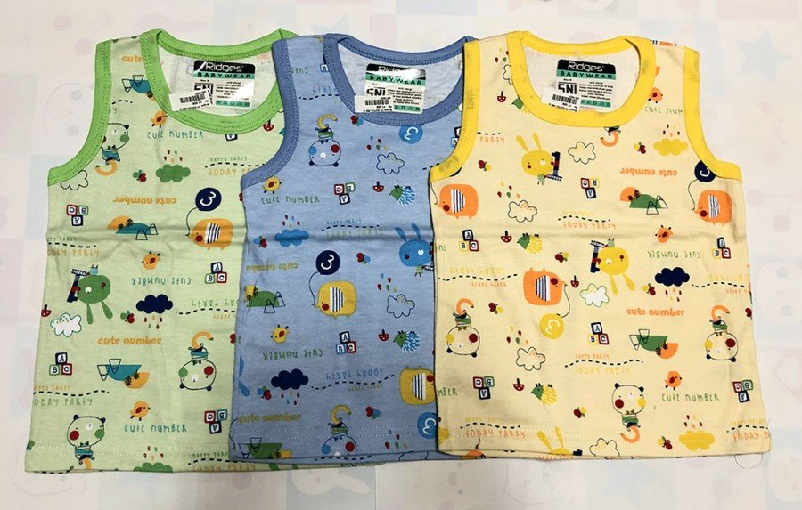 Singlet Anak Ridges Happy Party M 20010027