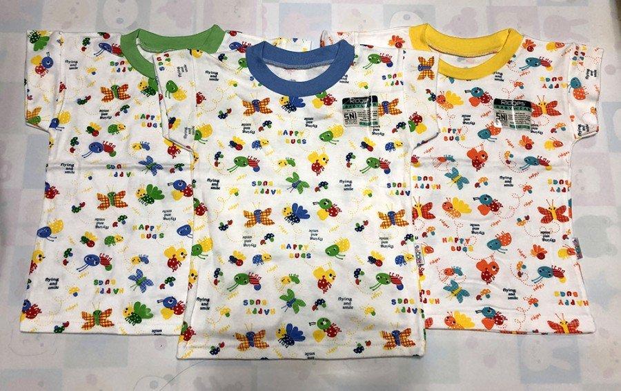 Baju Atasan Kaos Anak Ridges Flying and Smiling XL 20010049