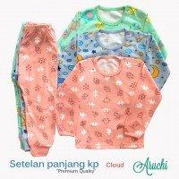 Setelan Baju Baby Panjang / Piyama / Baju Tidur Baby Aruchi L 20010099 (Premium Quality)
