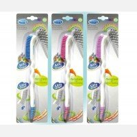 Sikat Botol Karet True / Non Scratch Bottle and Nipple Cleaning Brush