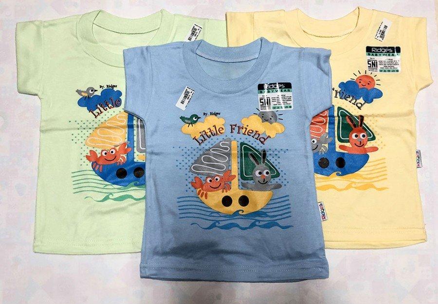 Atasan Kaos Anak Ridges Little Friends XL 20020012