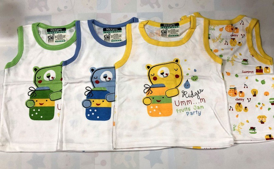 Singlet Anak Ridges Fruit Jam Party S 20020005