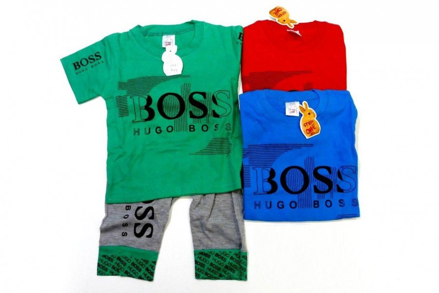 Setelan Anak Cowok Boss 20020030