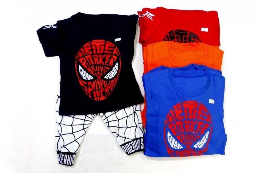 Setelan Anak Cowok Spiderman 20020036