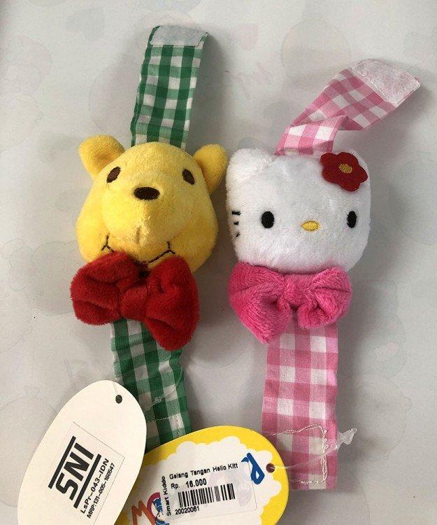 Rattle Gelang Bayi Hello Kitty