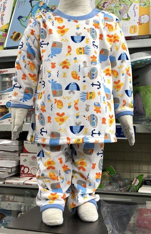 Setelan Baju Tidur Anak Print Murah dan Adem 20020063