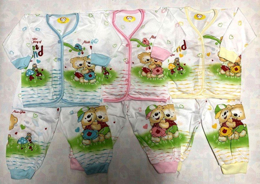 Setelan Baju Tidur Anak / Piyama Anak Murah dan Adem 20020084