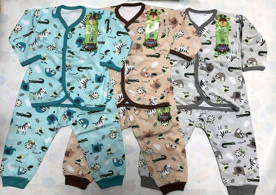 Setelan Baju Baby Panjang Ridges L Zebra 20020114