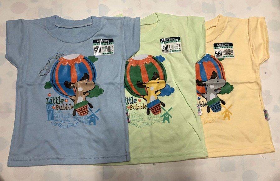 Atasan Kaos Anak Ridges Little Bubble S 20020099