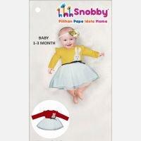 Terusan Gaun Bayi Snobby Nania 20020088