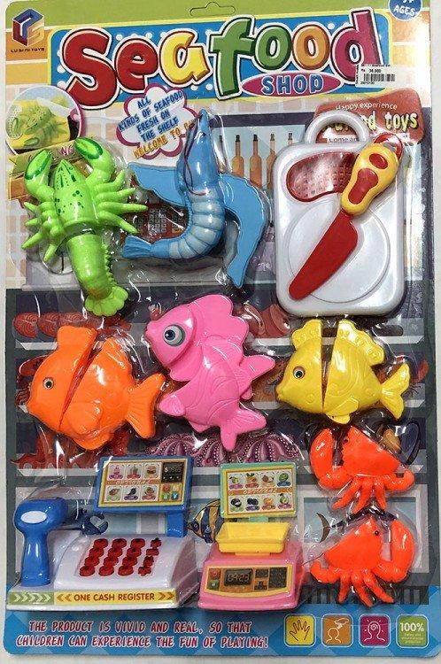 Mainan Masakan Seafood Set 20010130