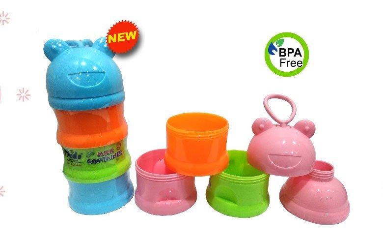 Milk Container / Tempat Susu Bayi Kodok Dodo 20030005