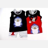 Setelan Baju Singlet Cowok Pinguin 20030012