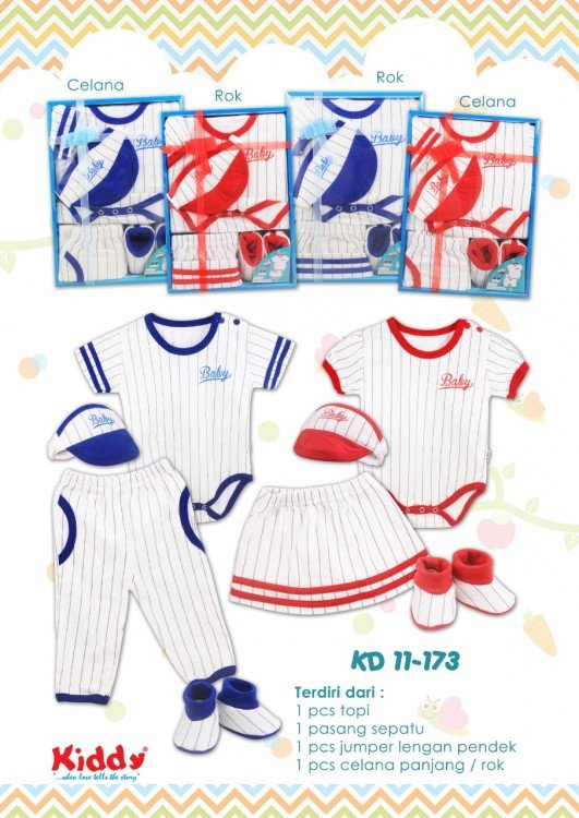 Kiddy Baby Set 11173