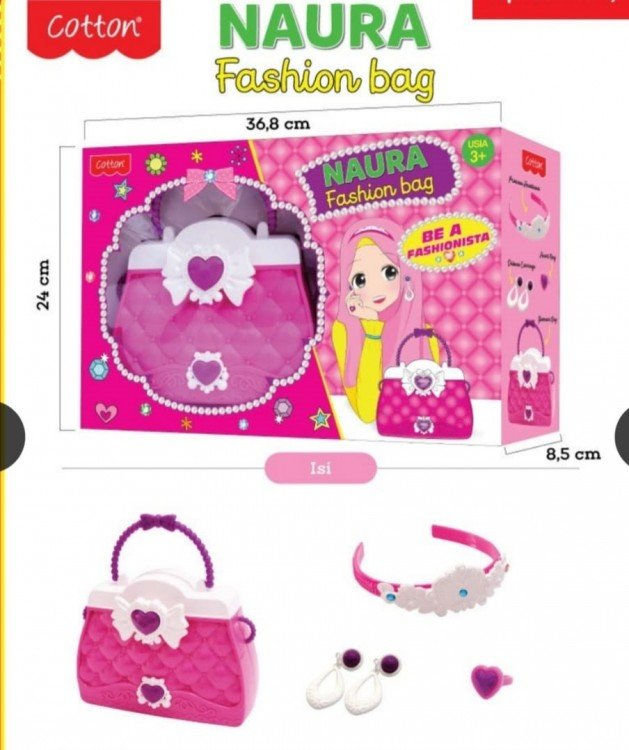 Mainan Tas - Naura Fashion Bag 20030009