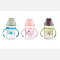Botol Susu Bayi Wide Neck PeganganLusty Bunny 125ml 20040044